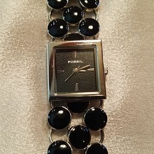 Fossil Black Bracelet Watch